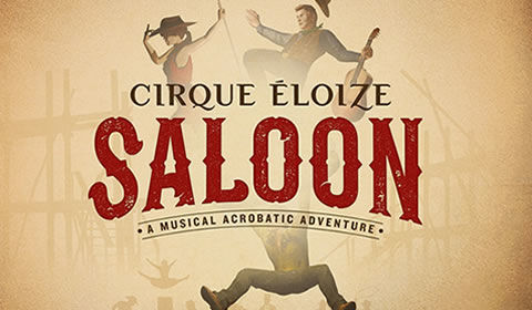 Cirque Eloize Saloon at Peacock Theatre tickets