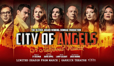 City of Angels at Garrick Theatre tickets