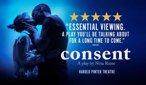 Consent at Harold Pinter Theatre tickets