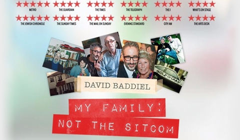 David Baddiel: My Family - Not the Sitcom at Vaudeville Theatre tickets