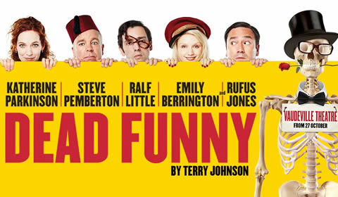 Dead Funny at the Vaudeville Theatre, London