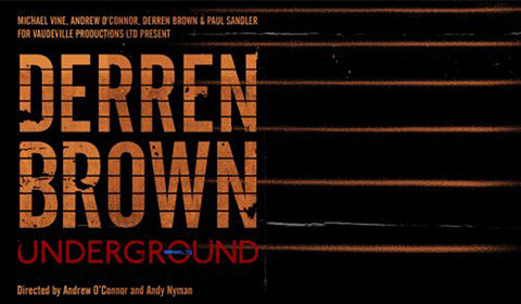 Derren Brown - Underground at Charing Cross Theatre tickets