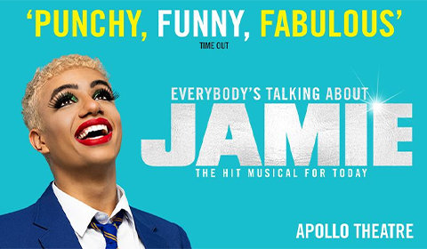 Everybody's Talking About Jamie at Apollo Theatre tickets