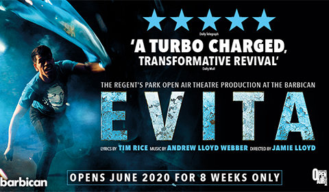 Evita at Barbican Theatre tickets