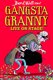 Gangsta Granny on Stage at the Garrick Theatre in London