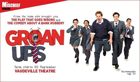 Groan Ups at Vaudeville Theatre tickets