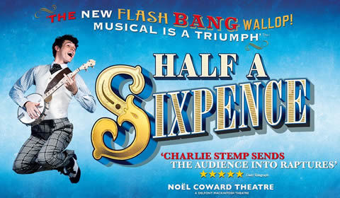 Half a Sixpence at Noel Coward Theatre tickets