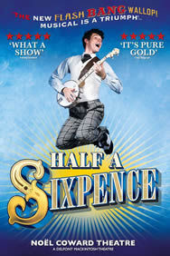 Half a Sixpence on Stage at the Noel Coward Theatre in London