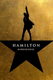 Hamilton on Stage at the Victoria Palace Theatre in London