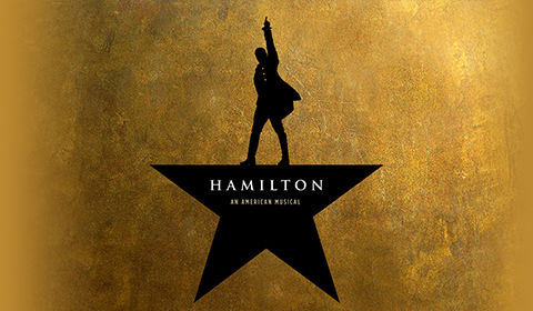 Hamilton at the Victoria Palace Theatre, London
