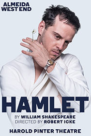 Hamlet on Stage at the Harold Pinter Theatre in London