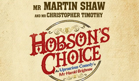 Hobson's Choice at Vaudeville Theatre tickets