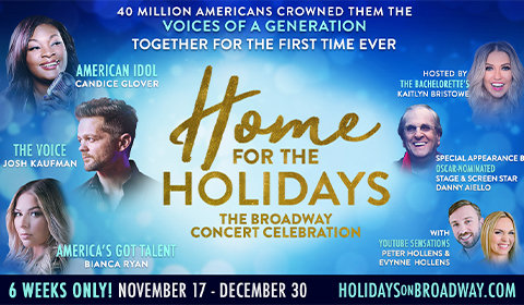 Home For the Holidays at August Wilson Theatre tickets