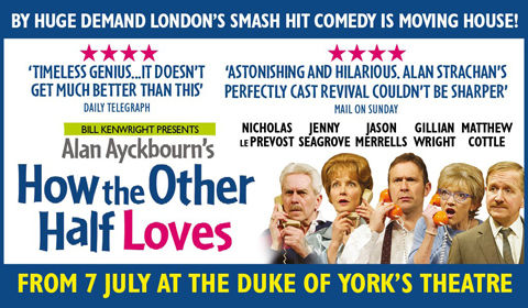 How The Other Half Loves at Duke of York's Theatre tickets