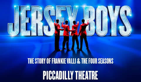 Jersey Boys at Piccadilly Theatre tickets