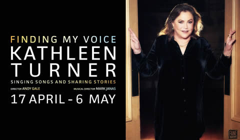 Kathleen Turner - Finding My Voice at The Other Palace tickets