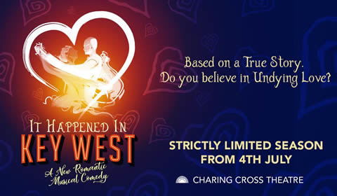 It Happened in Key West at Charing Cross Theatre tickets
