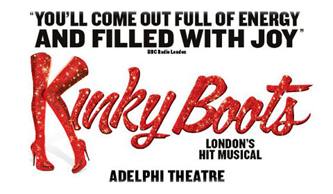 Kinky Boots at Adelphi Theatre tickets