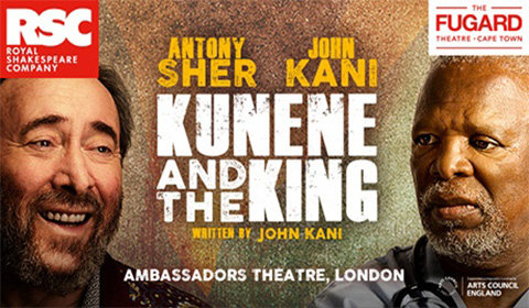Kunene and the King at Ambassadors Theatre tickets