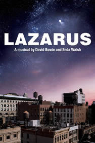 Lazarus on Stage at the King's Cross Theatre (South Entrance) in London