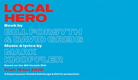 Local Hero at Old Vic Theatre tickets