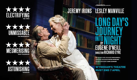Long Day's Journey Into Night at Wyndham's Theatre tickets