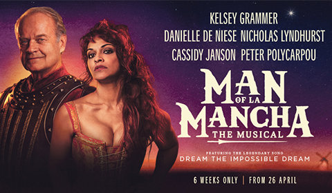 Man of La Mancha at London Coliseum tickets