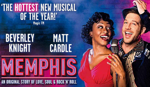 Memphis at Shaftesbury Theatre tickets