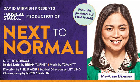 Next to Normal at CAA Theatre tickets