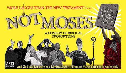 NotMoses at Arts Theatre tickets