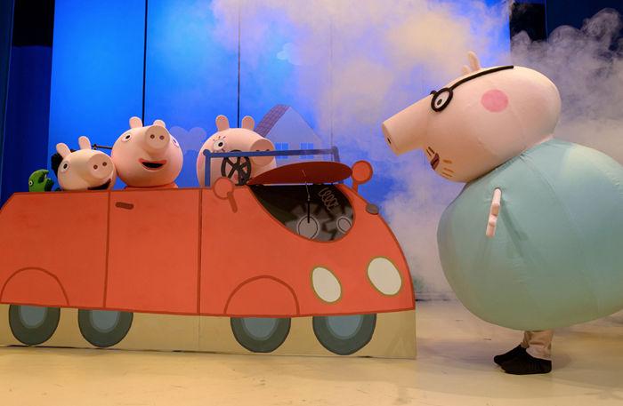 Peppa Pig S Surprise London Seatplan