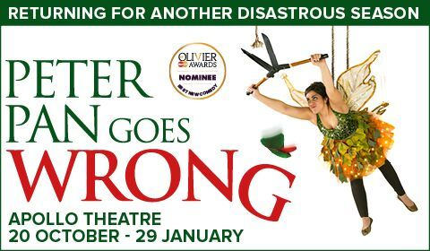 Peter Pan Goes Wrong at Apollo Theatre tickets