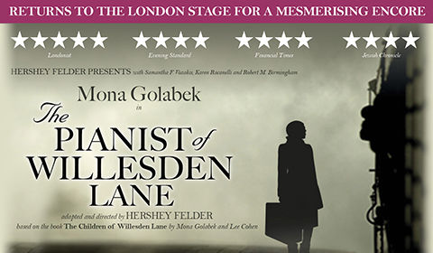 The Pianist of Willesden Lane at The Other Palace tickets