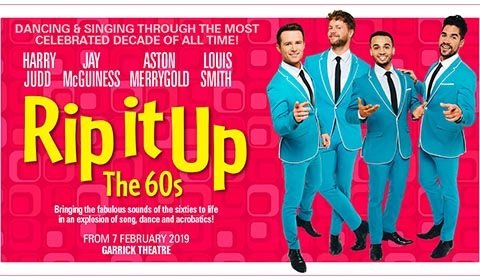 Rip It Up - The 60s at Garrick Theatre tickets
