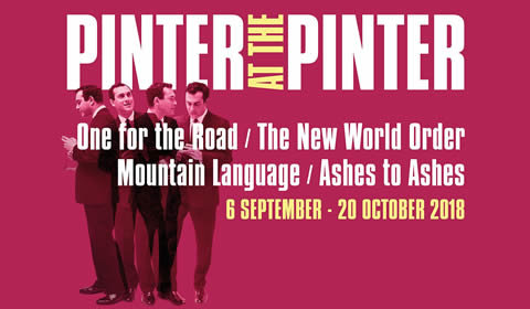 One for the Road / The New World Order / Mountain Language / Ashes to Ashes at Harold Pinter Theatre tickets