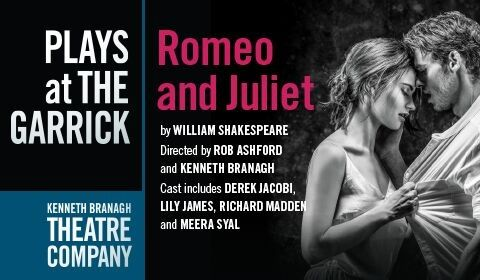 Romeo and Juliet at Garrick Theatre tickets