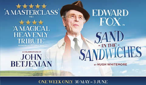 Sand in the Sandwiches at Theatre Royal Haymarket tickets