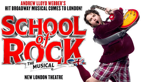 School Of Rock The Musical at Gillian Lynne Theatre tickets