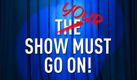 Showstopper! The Improvised Musical at Apollo Theatre tickets