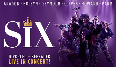 SIX at Arts Theatre tickets
