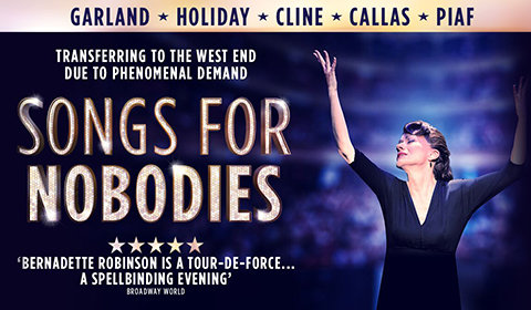 Songs for Nobodies at Ambassadors Theatre tickets