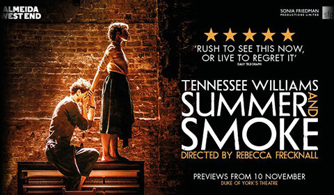 Summer and Smoke at Duke of York's Theatre tickets