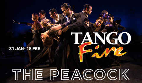 Tango Fire at Peacock Theatre tickets