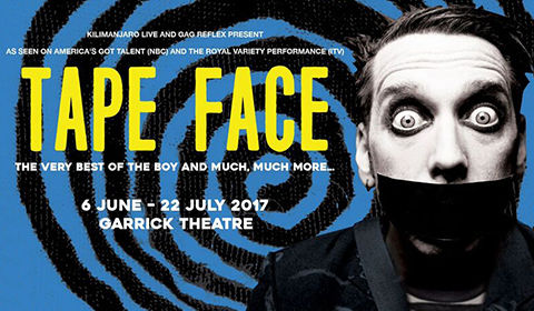 Tape Face at Garrick Theatre tickets