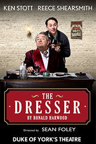 The Dresser on Stage at the Duke of York's Theatre in London