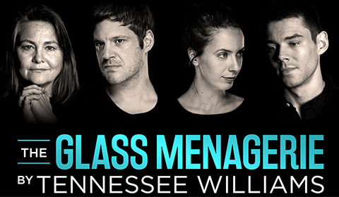 The Glass Menagerie Logo & Poster - Duke of York's Theatre, London