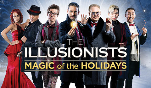 The Illusionists - Magic of the Holidays at Neil Simon Theatre tickets