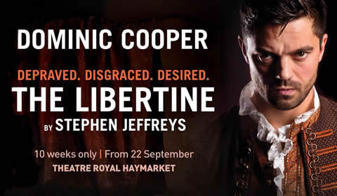 The Libertine at Theatre Royal Haymarket tickets