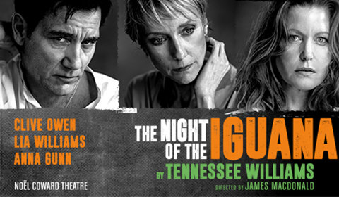 The Night of the Iguana at Noel Coward Theatre tickets
