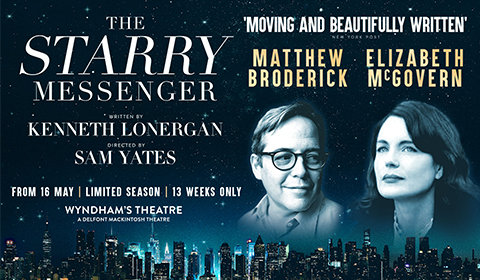 The Starry Messenger at Wyndham's Theatre tickets